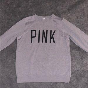 Grey Victoria's Secret Pink hoodie